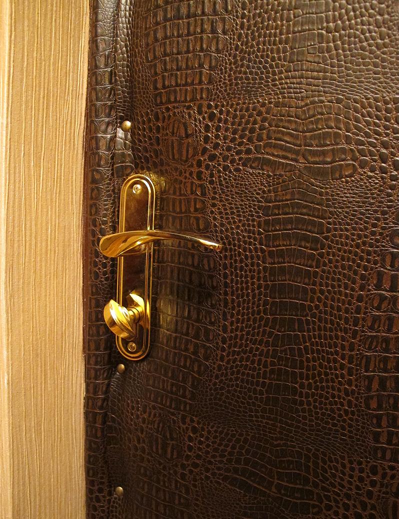 Отделка железной двери своими руками 99